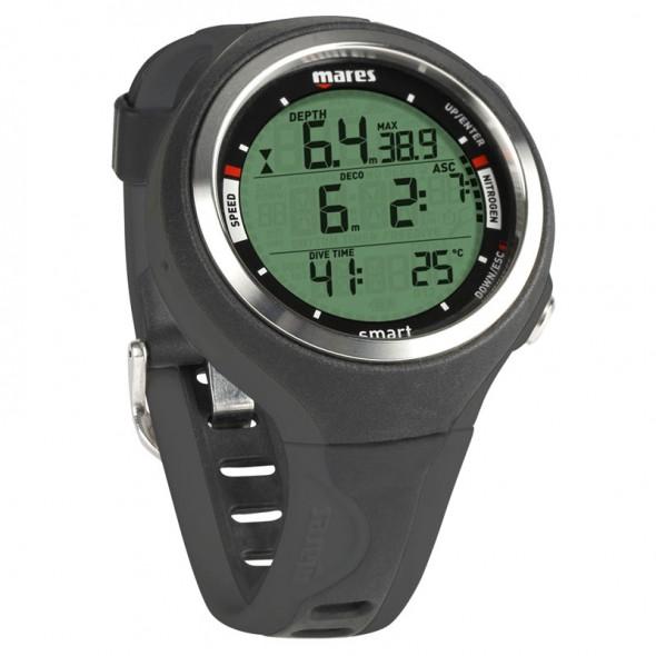 Computer sub Mares Smart colore Nero orologio