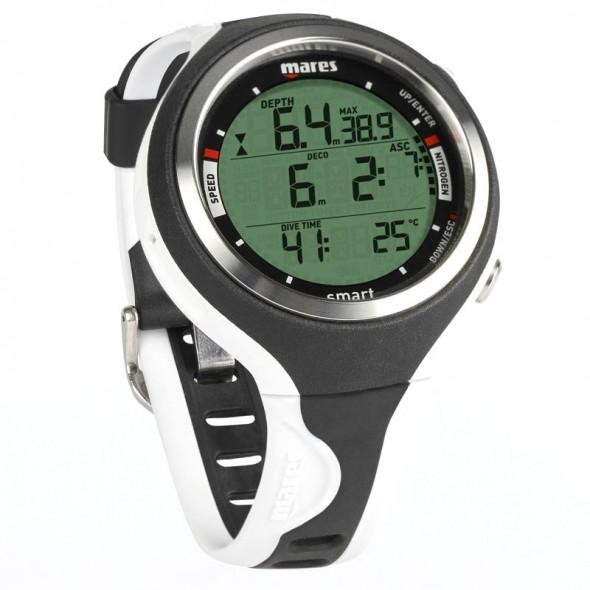 Computer subacqueo orologio Mares Smart Bianco