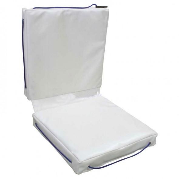 Cuscino galleggiante per barca Lalizas doppio in Sky bianco cm 83x40x6,5