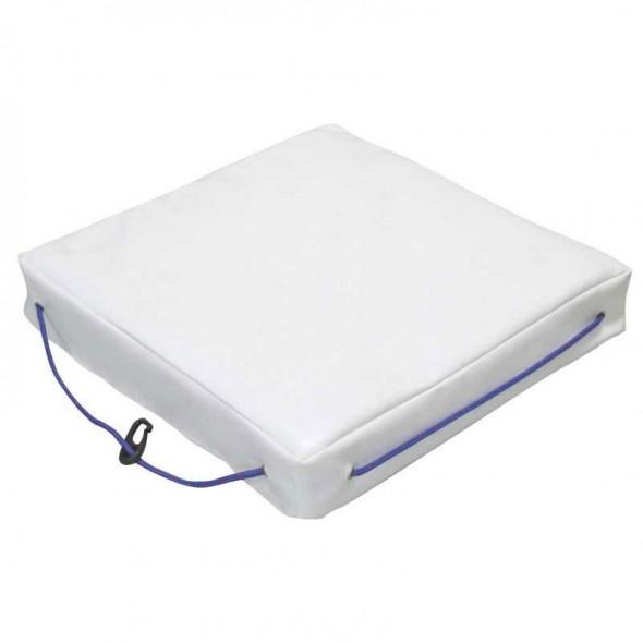 Cuscino galleggiante per barca Lalizas singolo in Sky bianco cm 40x40x6,5