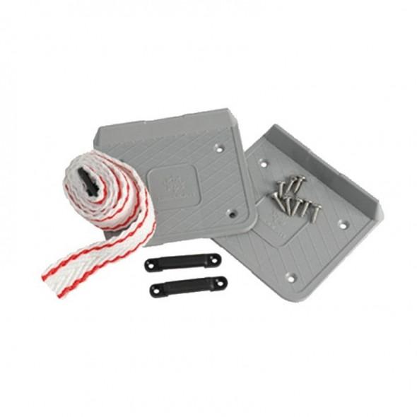 Piastra di Fissaggio per Batterie e Serbatoi