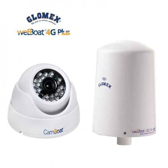 Glomex Webboat 4g Lite Wi-Fi + Camboat Video sorveglianza