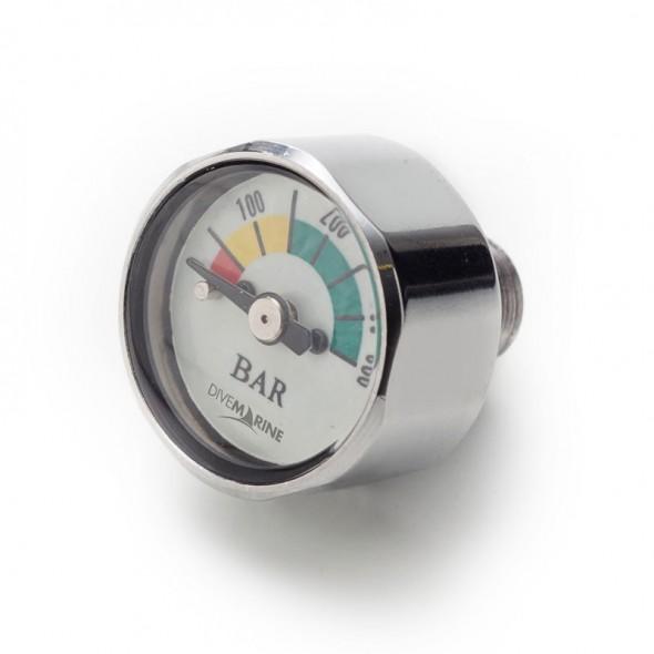 Mini manometro aria Pony Button per erogatore