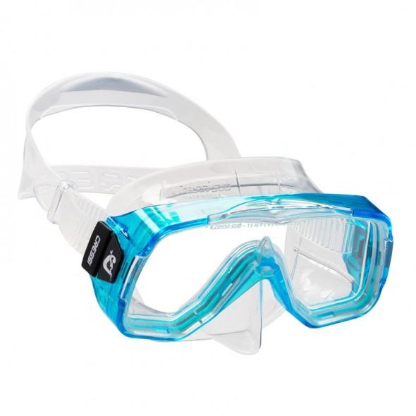 Maschera Cressi Sub Sirenetta in silicone per ragazzi e donne