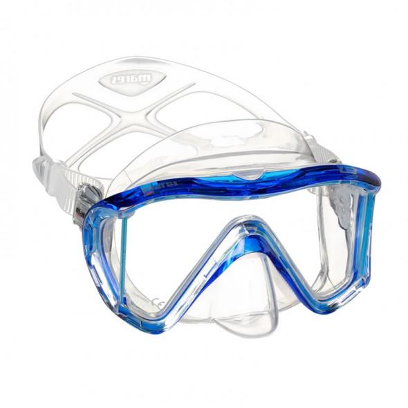 Maschera sub Mares I3 in silicone trasparente