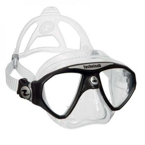 Maschera sub in silicone Micromask Technisub clear