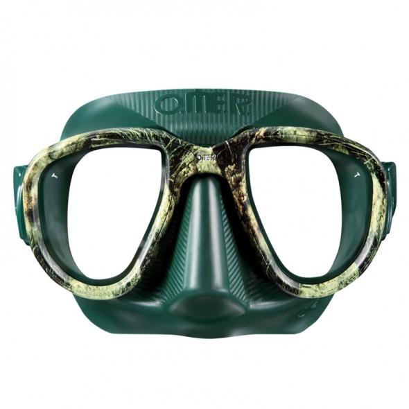 Maschera Omersub Alien Mimetica Sea Green