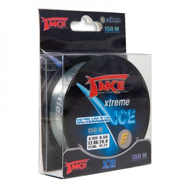 Monofilo Take Ice Ultraclear 150 Metri
