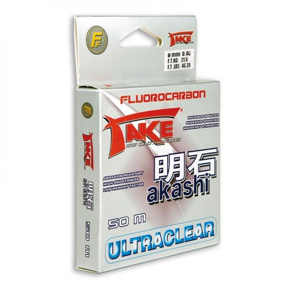 Monofilo fluorocarbon Take Akashi 50 metri