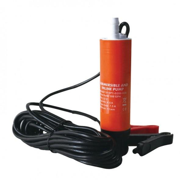 Pompa Ad Immersione per Taniche 12Volt Acqua o Gasolio