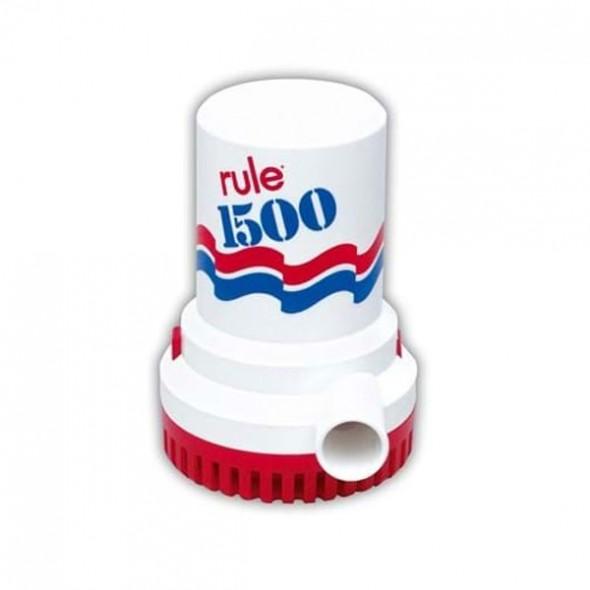 Pompa di sentina ad immersione Rule 1500 24volt litri/min 100