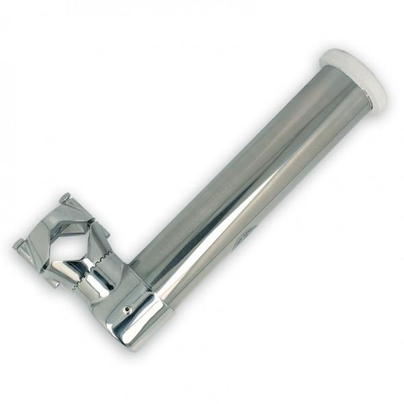 Portacanna inox per rollbar per tubi Ø 35 - 40 mm