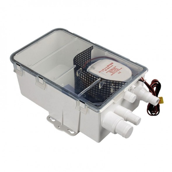 Pozzetto acque grigie Europump Con Pompa 12 V