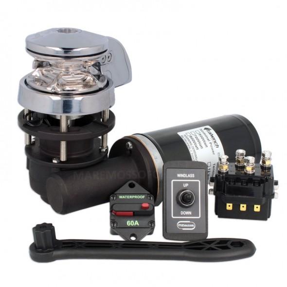 Verricello Salpa Ancora Offerta Kit Installazione Italwinch Smart 500W