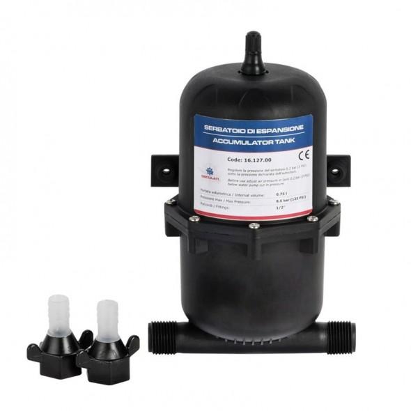 Serbatoio di espansione per pompe autoclavi in ABS