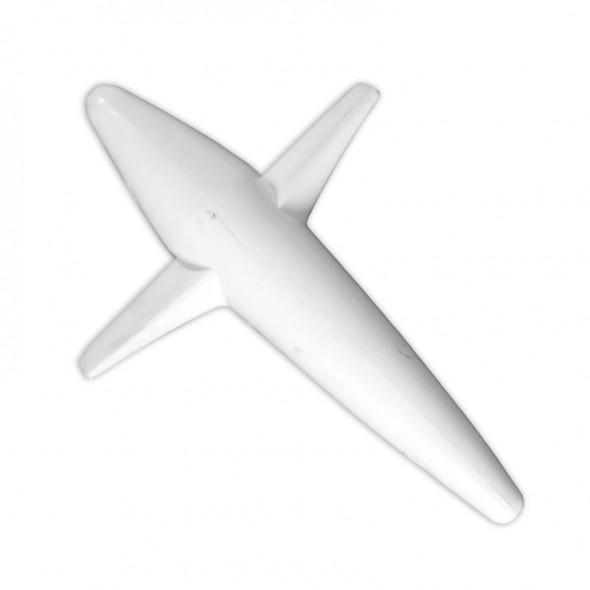 Aeroplanino Teaser per traina con foro passante cm 12,5