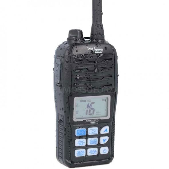VHF portatile Polmar Navy 015F Impermeabile e Galleggiante