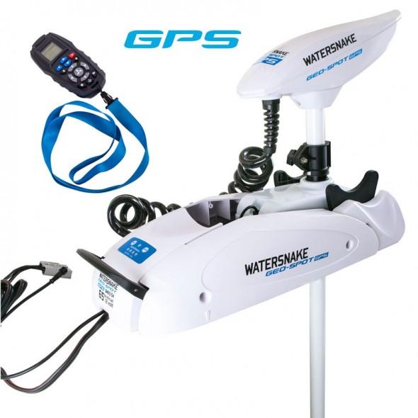 Motore Fuoribordo Elettrico Watersnake con GPS Geo-Spot SW65/54