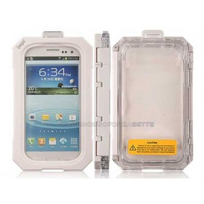 CUSTODIA CASE IMPERMIABILE IPEGA PER IPHONE 5/5S BIANCO