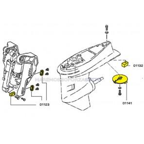 Anodi per fuoribordo Yamaha 40-60 4T hp