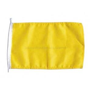 Bandiera codice internazionale Q gialla