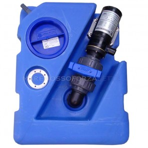 Serbatoio acque nere 40 litri con maceratore