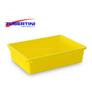 BACINELLA TUBERTINI MK YELLOW PLASTIC TRAY
