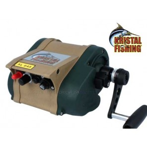 Mulinello elettrico Kristal Fishing XL645M velocità regolabile