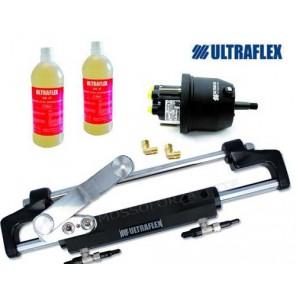 Timoneria Idraulica Ultraflex Nautech 2 Per Fuoribordo Max 300hp