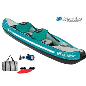 CANOA GONFIABILE KAYAK SEVYLOR MADISON 2 POSTI