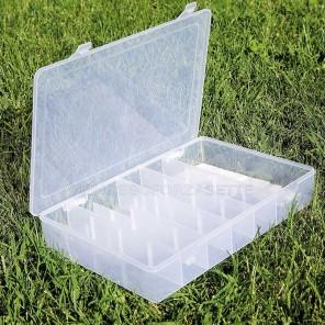Scatola boxe valigetta accessori pesca cm 32x22