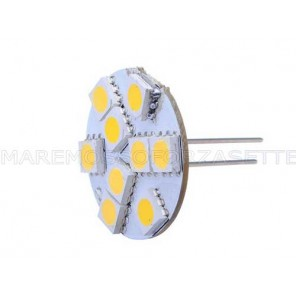 LAMPADINA A LED G4 12V CON 9 SMD LED 80 LUMEN