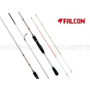 CANNA DA PESCA FALCON SPINNING BLU FIGHTER TWO TIPS 2,40 METRI