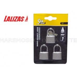 Lucchetto marino mm30 Lalizas sealock 3pz
