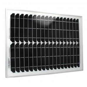 Pannello solare monocristallino Lalizas 20 watt