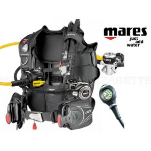 ATTREZZATURA SUBACQUEA MARES JACKET ABYSS INT MANOMETRO TG LARGE