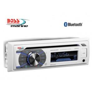 Radio barca stereo marinizzato Boss Marine MR508uabw cd telecomando