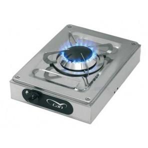 Fornello in acciao inox ad un fuoco CAN