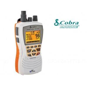 VHF COBRA MARINE MR HH600 WHITE CON GPS IMPERMEABILE IPX8