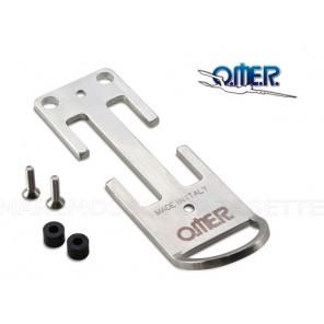 Anello Omer D-Ring Inox Per Cintura