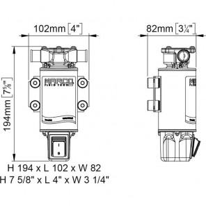 Pompa Marco UP1-JS 12v per travaso di liquidi