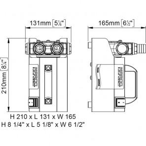 Pompa Marco VP45 Kit 12v per travaso liquidi