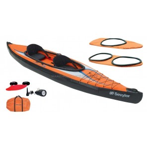 CANOA GONFIABILE SEVYLOR POINTER K2  KAYAK CON DUE PAGAIE