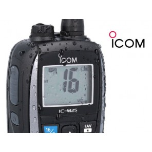 VHF ICOM IC-M25EURO PORTATILE IMPERMEABILE GALLEGGIANTE