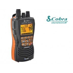VHF COBRA MARINE MR HH600 BLACK