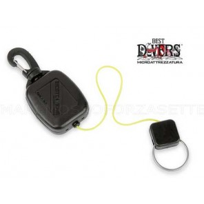 CLIPS MINI RETRACTOR BEST DIVERS AI0228DY DYNEEMA
