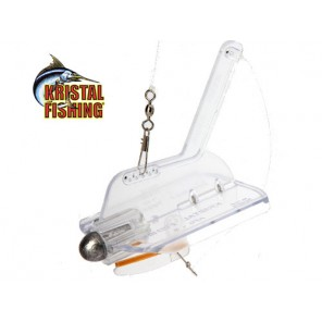 Affondatore traina Kristal Fishing AFC2 invisibile squid catcer
