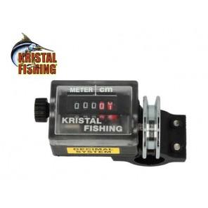 Contametri CMA Kristal Fishing per canna o downrigger