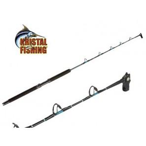 Canna pesca Kristal Fishing Halibut per mulinelli elettrici