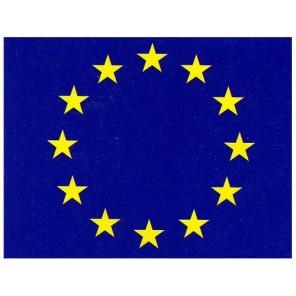 BANDIERA EUROPA IN POLIESTERE